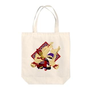 【鬼狐】 Tote bags