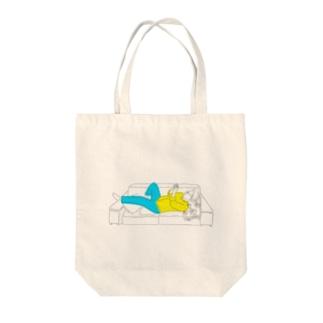 メガネ男子 Tote bags