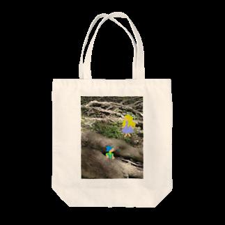 おてて商店のかくれんぼ Tote bags