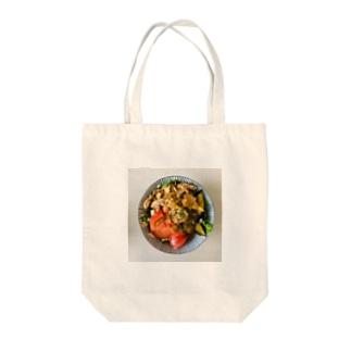 夏野菜丼 Tote bags