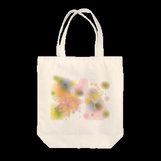 Saint SKの山ノ花 Tote bags