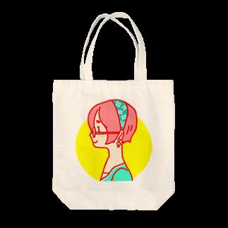 muraの店の横顔女子 Tote bags