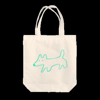 STORE(ストア)のinu-kitsune green Tote bags