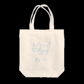 simono0501の絵心がないぬっこシリーズ Tote bags