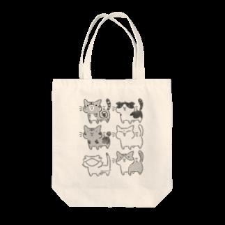 おとんのねこちゃん うちねこ+トカゲ Tote bags