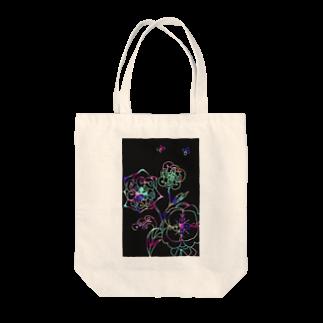 yuka sugita SAKUSHIのゼンタングル×スクラッチアート風 Tote bags