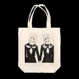 HEART store のセーラ服ズ Tote bags