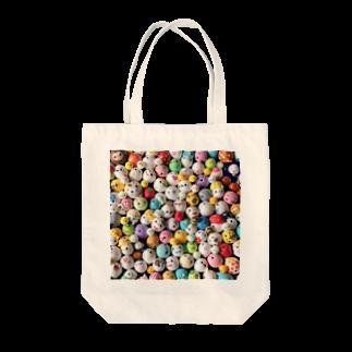 うなのんのたますぃ〜がいっぱい・しかく Tote bags