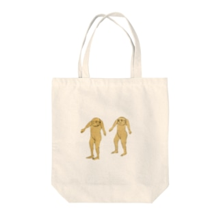 ふたご Tote bags