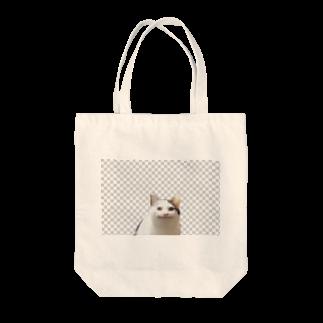 梅のneco Tote bags