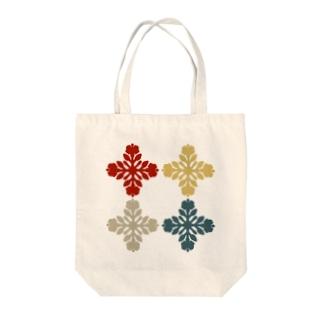 キルトパターン4 Tote bags