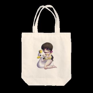 8.7のおまるちゃん Tote bags
