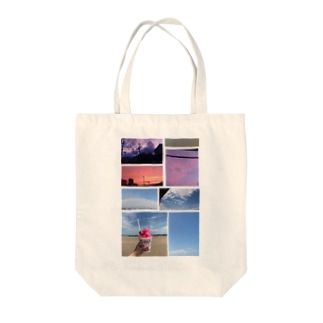 空の詰め合わせ Tote bags