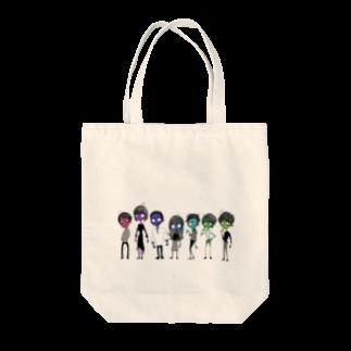 rainbomのゾンビ Tote bags
