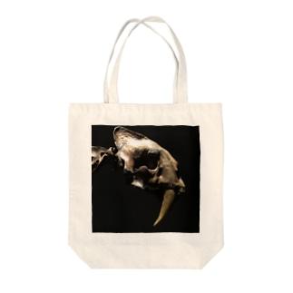 サーベルタイガー Tote bags
