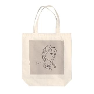 アンニュイgirl Tote bags