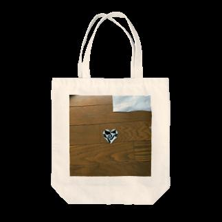 うみつき(:]ミのハート Tote bags