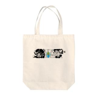 Huujin&Raijin Tote bags