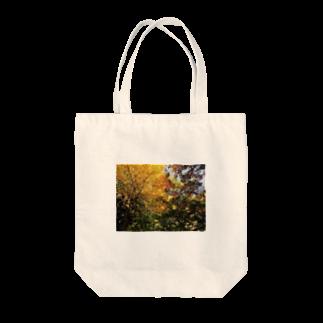 Hotateの見事な紅葉 Tote bags