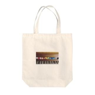 ピアノと風船① Tote bags