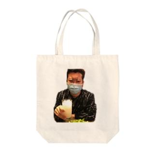 鬼 Tote bags