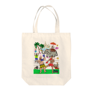 uwotomoのグッズ【ムエタイDX】 Tote bags