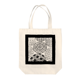 hitomin311のZentangle Tote bags