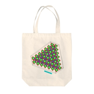 ベニト石 Written by VESTA3 Tote bags