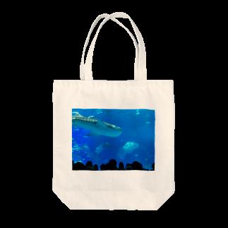 kknkakのジンベイザメの写真 Tote bags