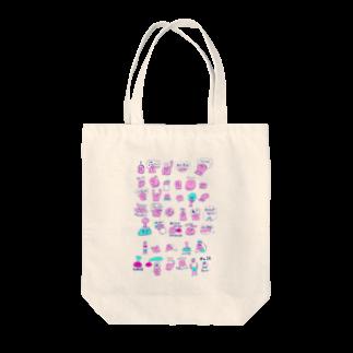 poyosumiのpoyosumi 大集合 Tote bags