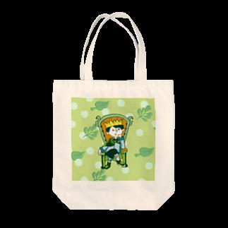 けんけんぱの森のおうさま Tote bags