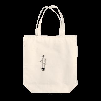 ジオのショタくん Tote bags