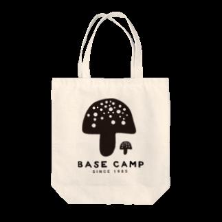 BASE-CAMPのBASE キノコ 01 Tote bags