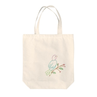 HAPPY BIRD Tote bags