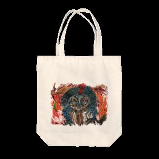 色鉛筆 Life Timeのヘルリザード Tote bags