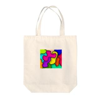 色いろいろ Tote bags