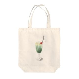 .ソーダフロート Tote bags