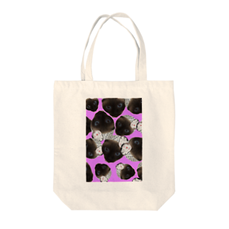 宇乃 枢のまつりねこ(Uno ver) Tote bags