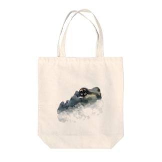 ミルキーフロッグくん Tote bags