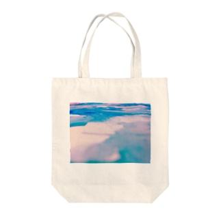 甘いみずたまり Tote bags