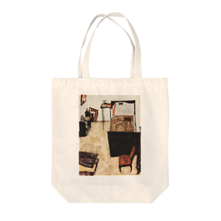 Art Baseのエゴン・シーレ / 1911 /Schiele's Room in Neulengbach / Egon Schiele Tote bags