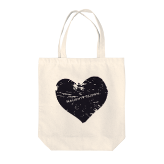 Naughty clown .のblack love. Tote bags