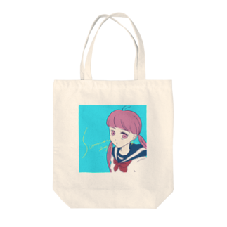 LATEのsummer  girl 2019 Tote bags