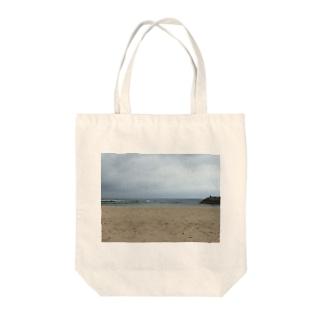 沖縄の浜辺 Tote bags