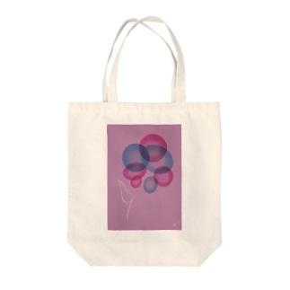 一輪の花・花恋 Tote bags