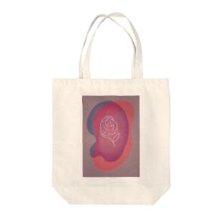 一輪の花・花のかおり Tote bags