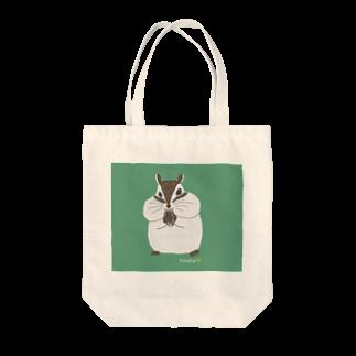 futaba shop(フタバショップ)のシマリスのマリ Tote bags