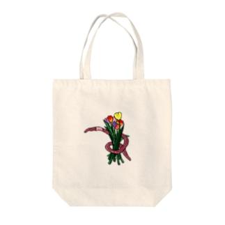 ミミ束 Tote bags