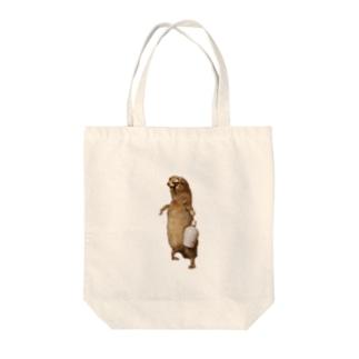 酒好き剥ちゃん Tote bags