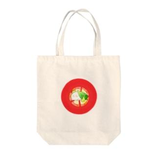 モッツアレラ Tote bags